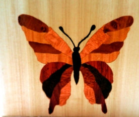 Marquetry Butterfly