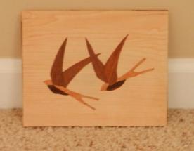 Marquetry Birds